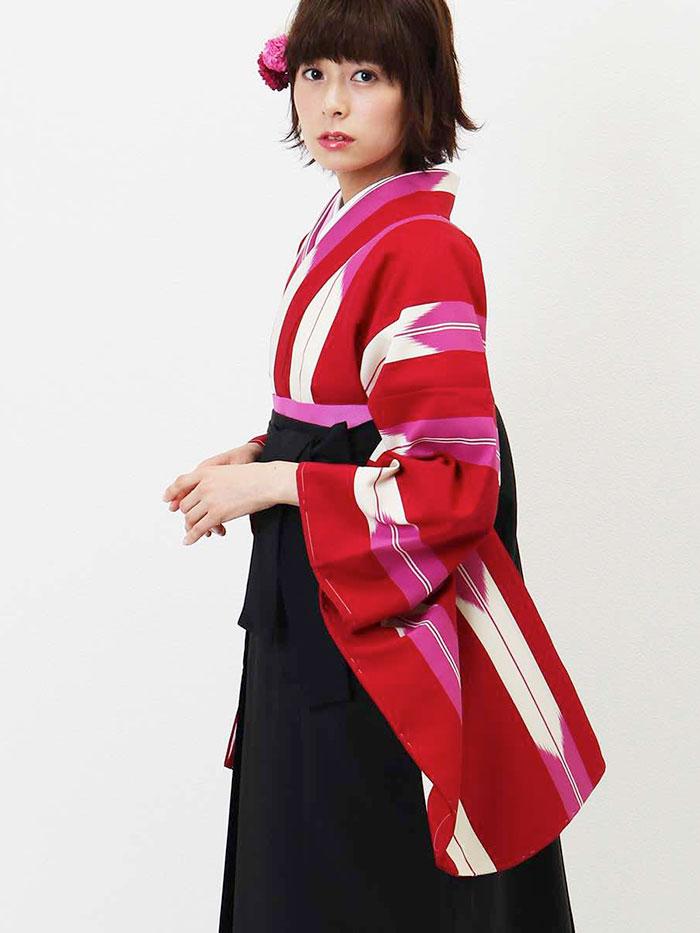 【h】|送料無料|卒業式レンタル袴フルセット-1339