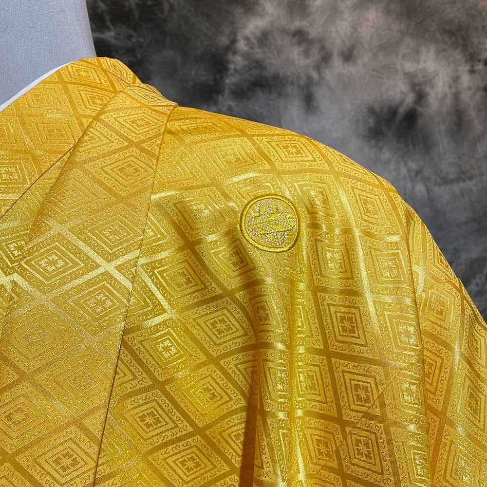  送料無料 【レンタル】【成人式】安心の最大1ヶ月レンタル可能 男性用レンタル紋付き袴フルセット-7414