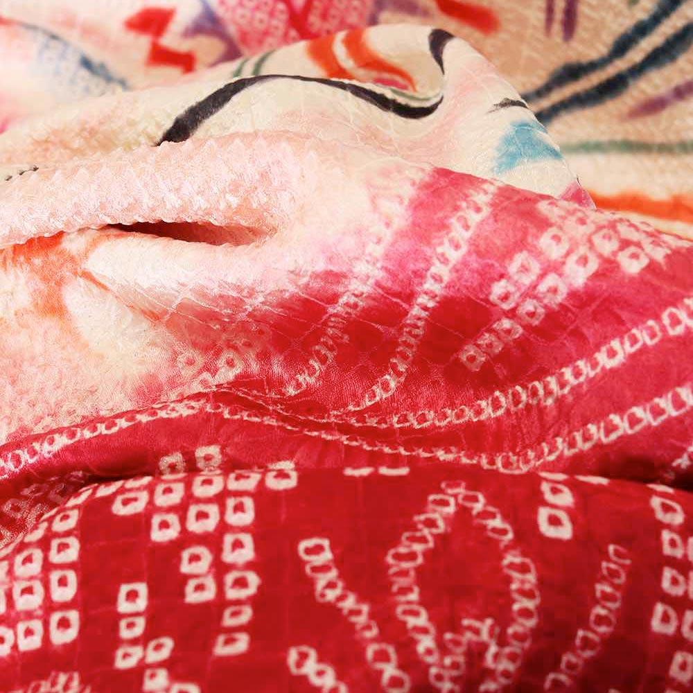  送料無料 【レンタル】【成人式】 [安心の長期間レンタル]【対応身長155cm〜170cm】レンタル振袖フルセット-885 レトロ 古典 ピンク系