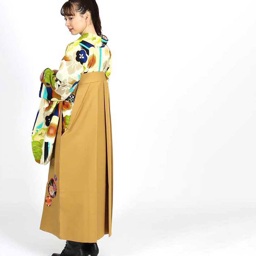 【h】 送料無料 卒業式レンタル袴フルセット-1813
