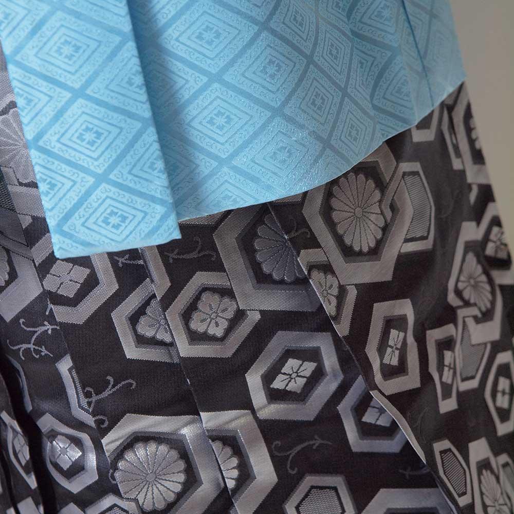 |送料無料|【レンタル】【成人式】安心の最大1ヶ月レンタル可能 男性用レンタル紋付き袴フルセット-7416
