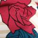 |送料無料|【レンタル】【成人式】 [安心の長期間レンタル]【対応身長150cm〜165cm】【合繊】レンタル振袖フルセット-382|花柄|レトロ|