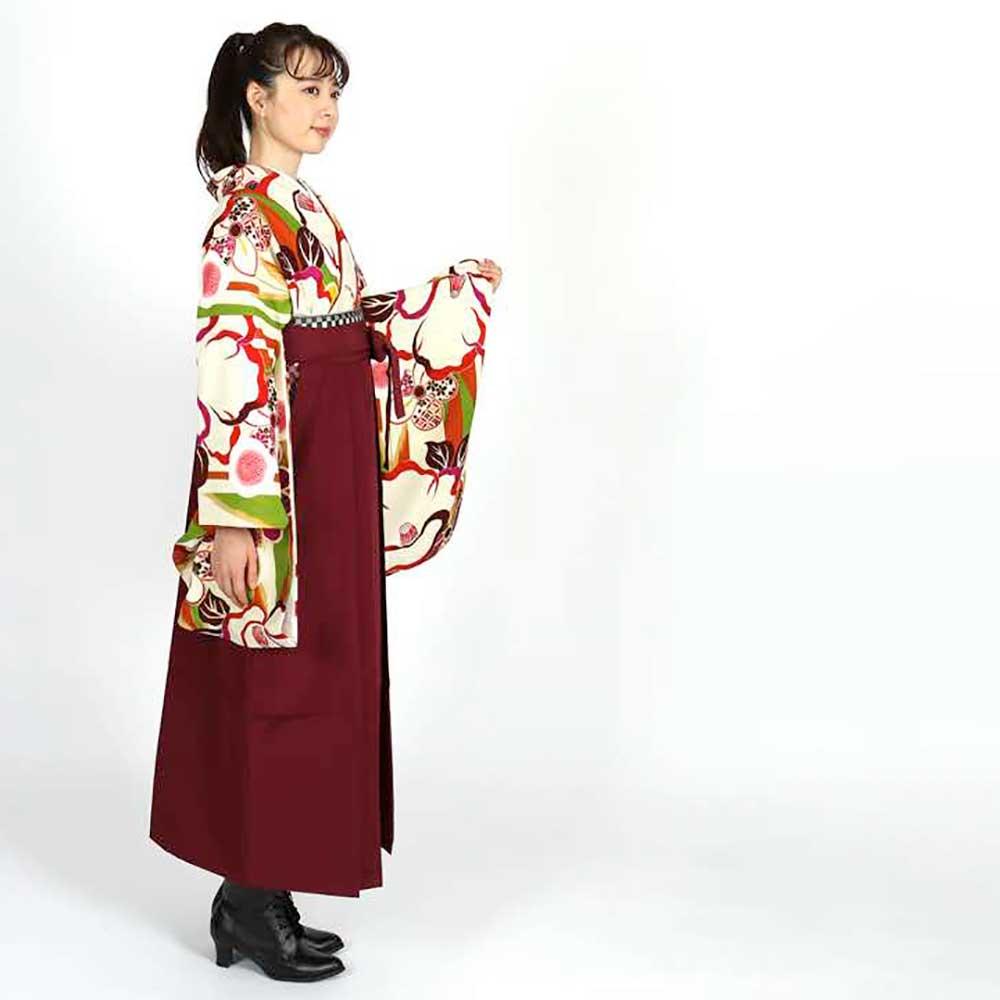 |送料無料|卒業式レンタル袴フルセット-1817