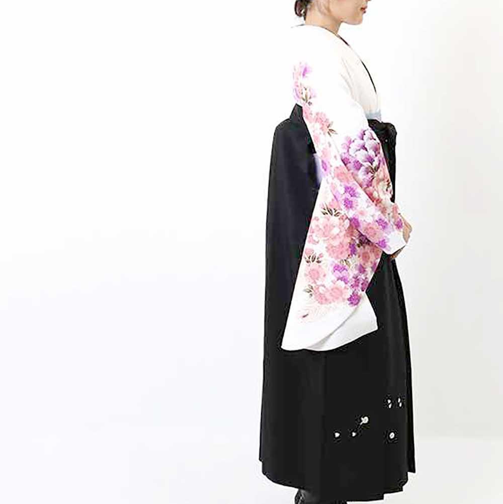 【h】|送料無料|卒業式レンタル袴フルセット-820