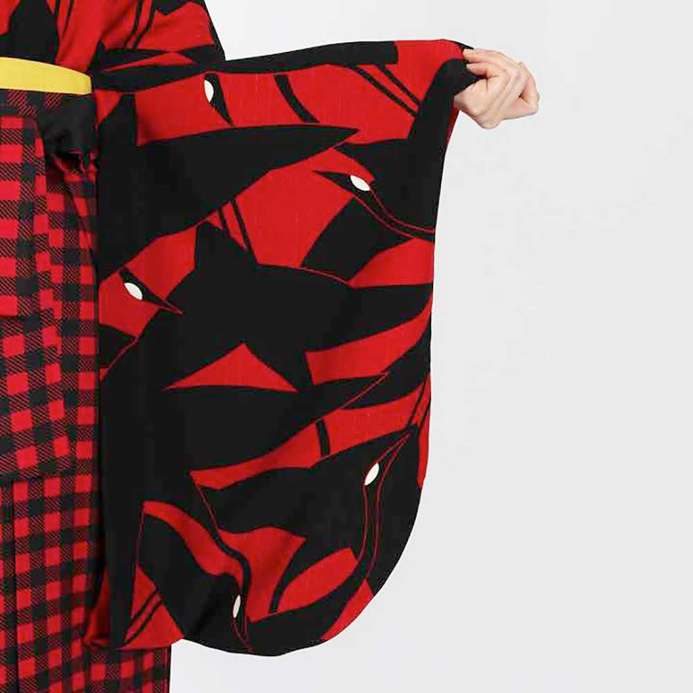 |送料無料|卒業式レンタル袴フルセット-1819