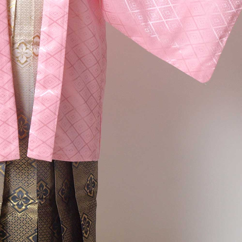 |送料無料|【レンタル】【成人式】安心の最大1ヶ月レンタル可能 男性用レンタル紋付き袴フルセット-7015