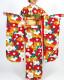 【成人式】 [安心の長期間レンタル]【対応身長155cm〜170cm】レンタル振袖フルセット-700 花柄 レトロ 定番 ポップキュート 黄色系 赤系 椿 京都岡重