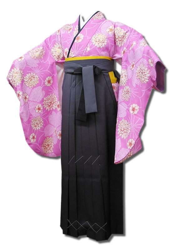 |送料無料|卒業式レンタル袴フルセット-564