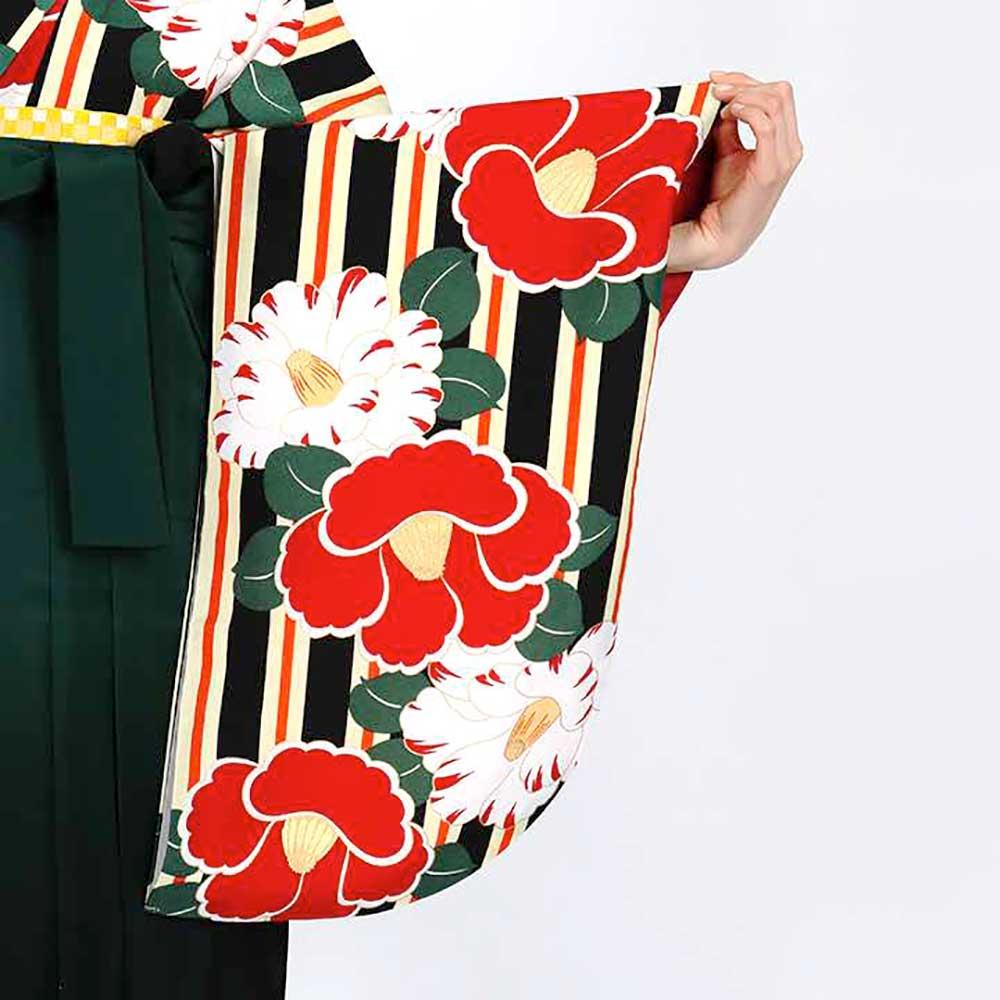 【h】|送料無料|卒業式レンタル袴フルセット-1820