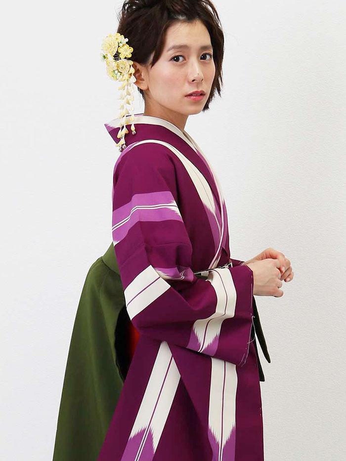 |送料無料|卒業式レンタル袴フルセット-1348