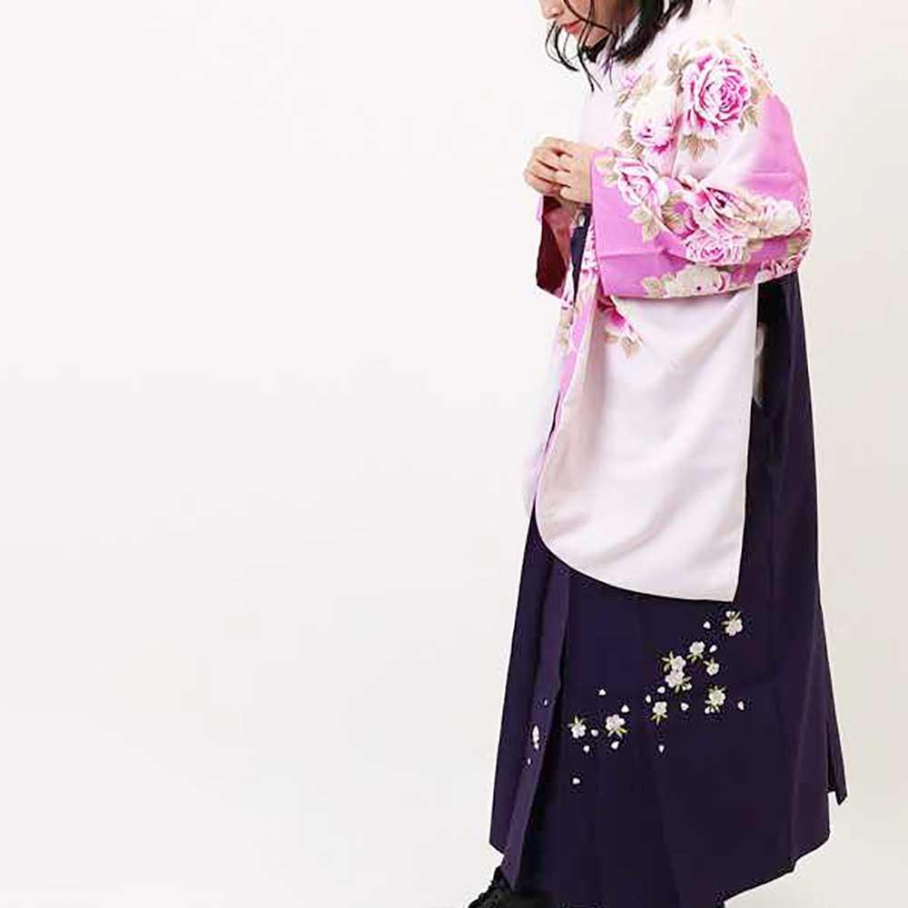 |送料無料|卒業式レンタル袴フルセット-824