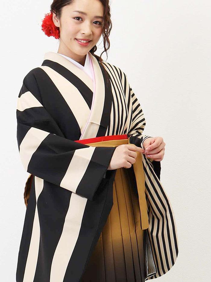 |送料無料|卒業式レンタル袴フルセット-1349