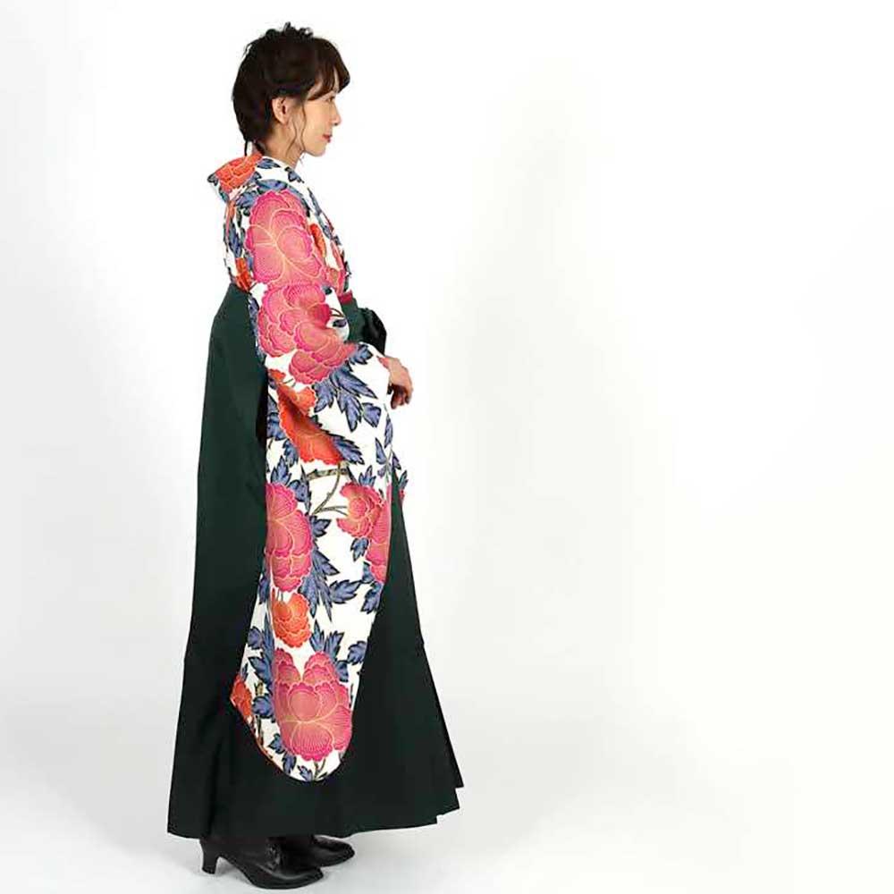 【h】|送料無料|卒業式レンタル袴フルセット-1822