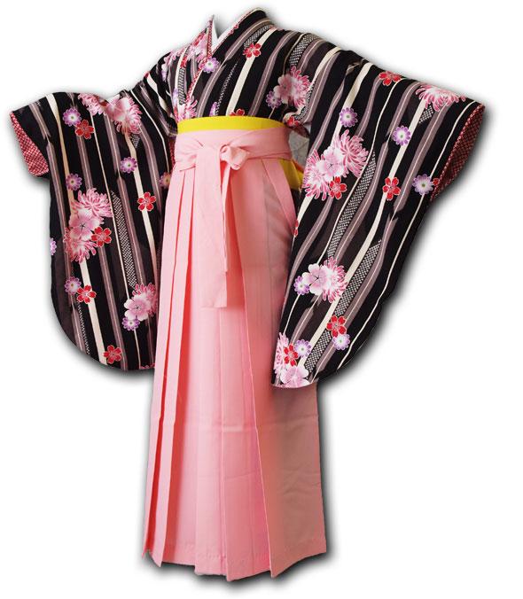 |送料無料|卒業式レンタル袴フルセット-1000