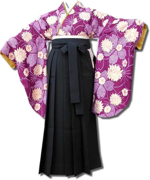 |送料無料|卒業式レンタル袴フルセット-567