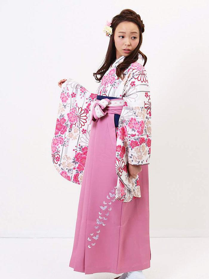 【h】|送料無料|卒業式レンタル袴フルセット-934