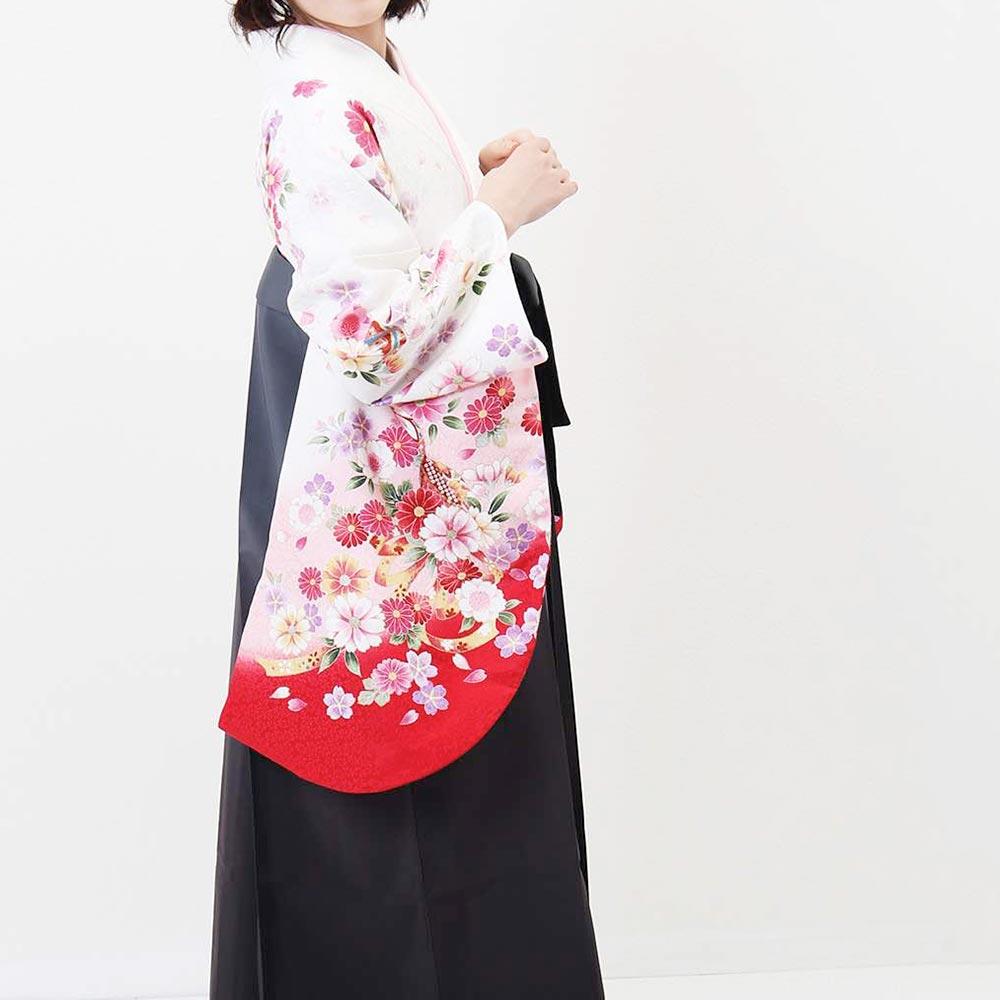 |送料無料|卒業式レンタル袴フルセット-1297