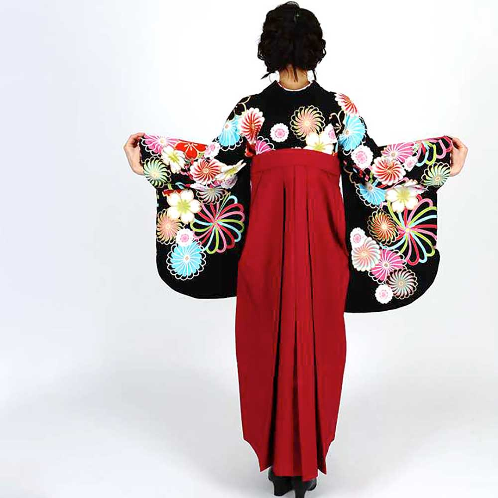 |送料無料|卒業式レンタル袴フルセット-1247