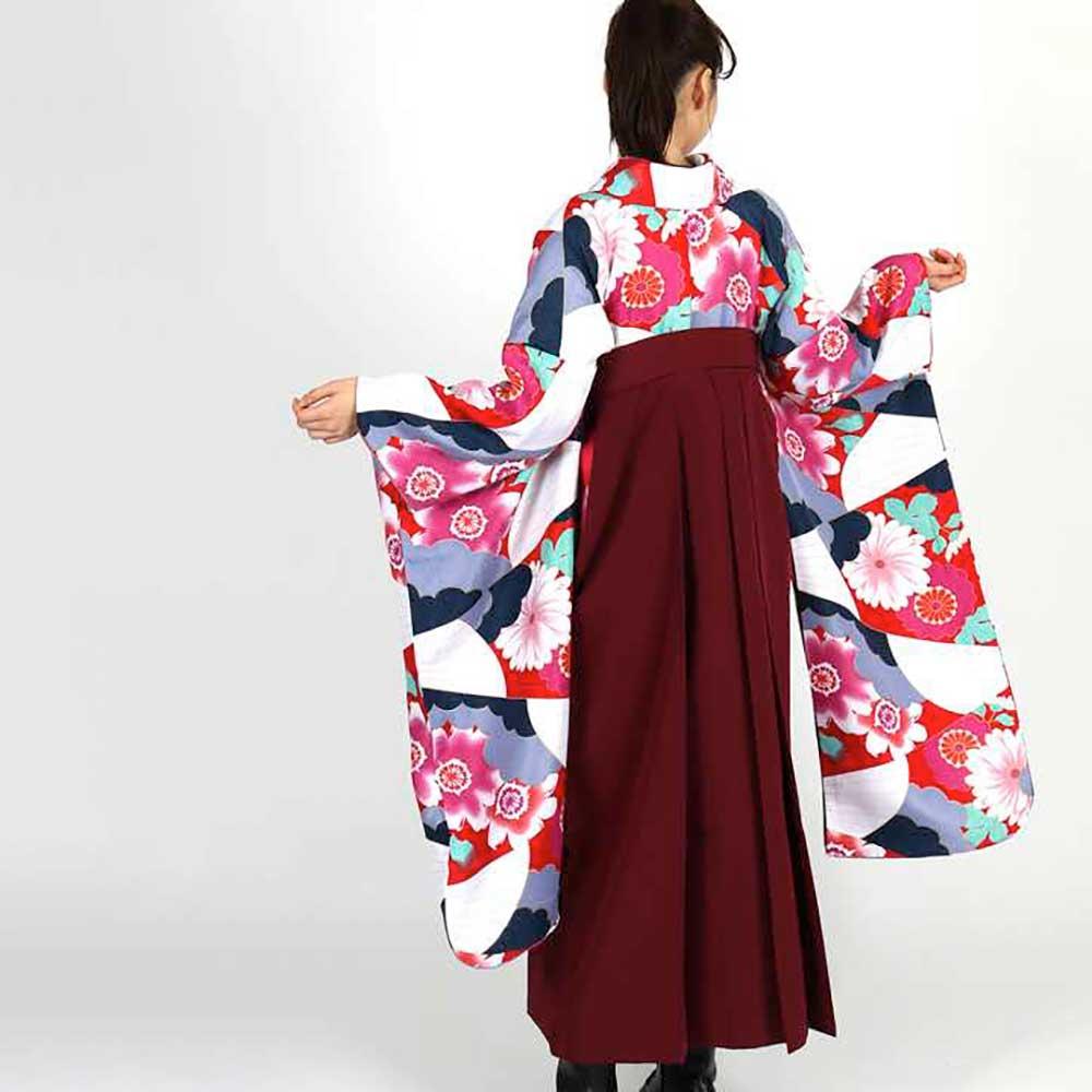 【h】|送料無料|卒業式レンタル袴フルセット-1824