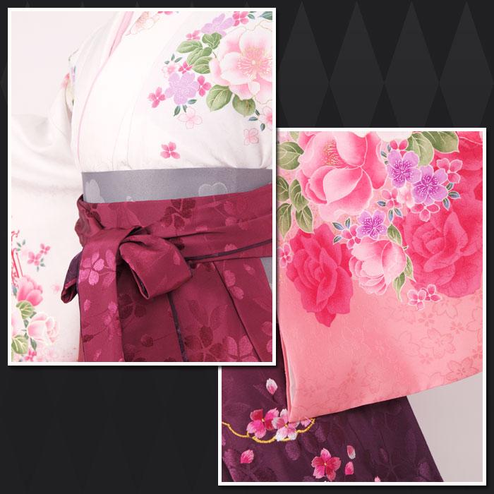 |送料無料|卒業式レンタル袴フルセット-1141