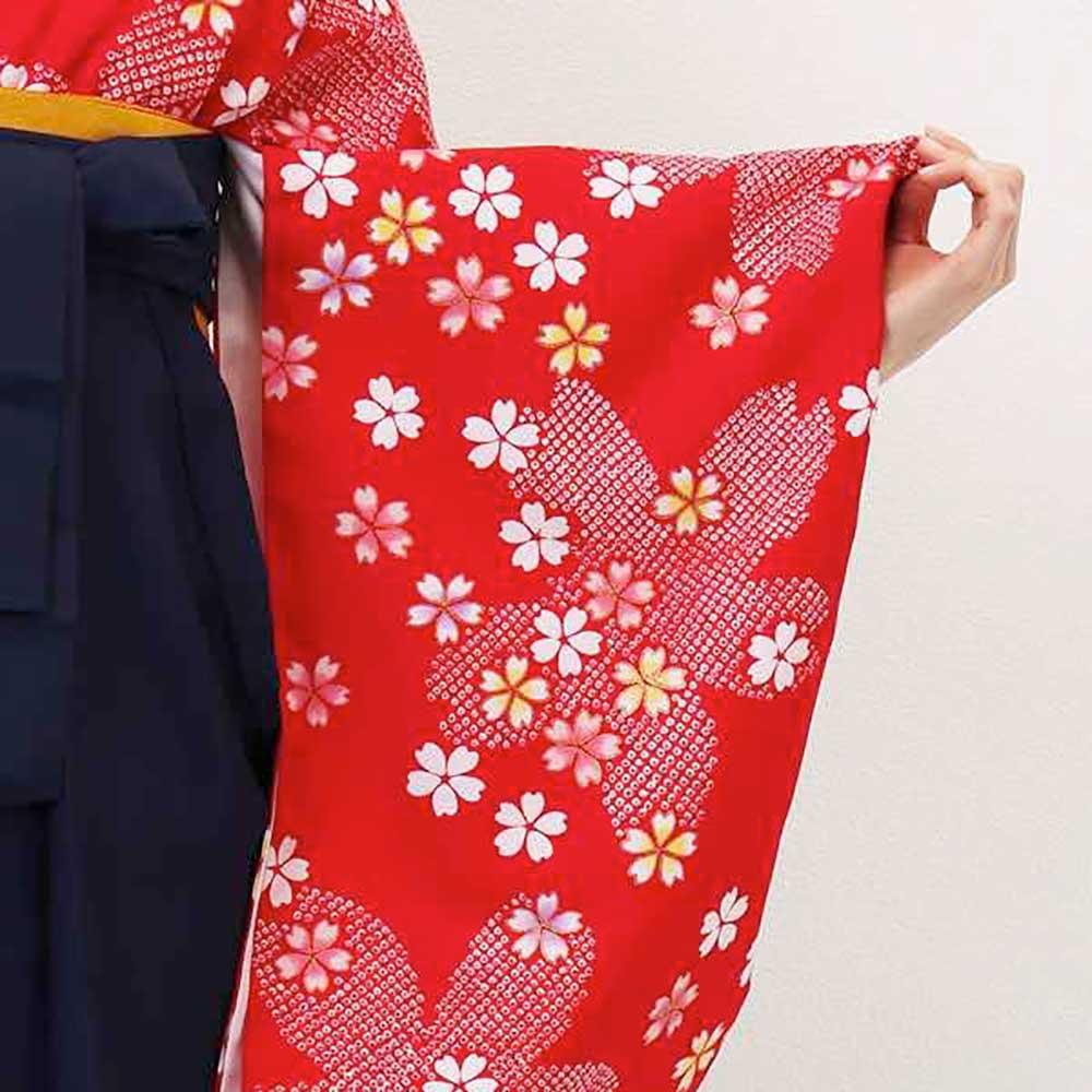 【h】|送料無料|卒業式レンタル袴フルセット-827