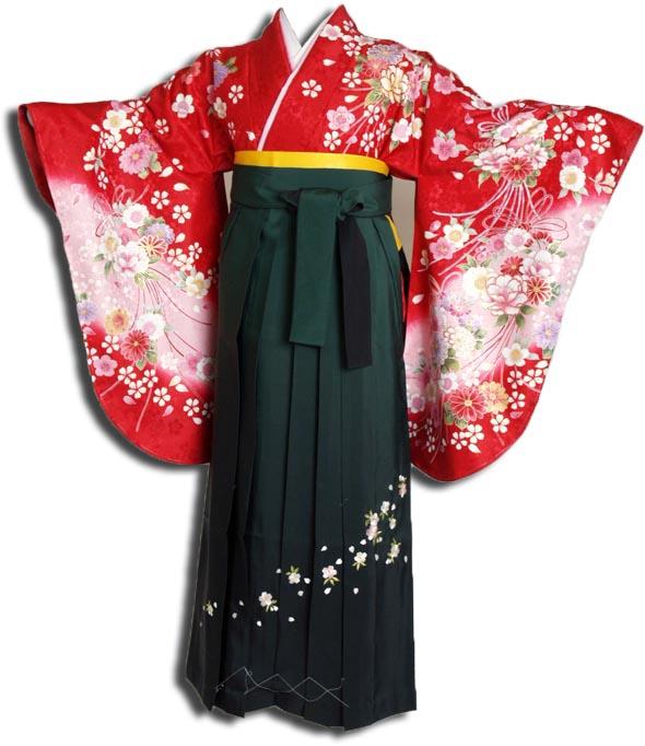 |送料無料|卒業式レンタル袴フルセット-936
