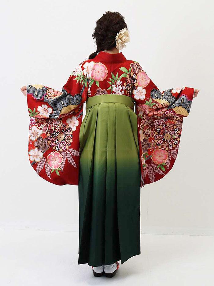 |送料無料|卒業式レンタル袴フルセット-1352