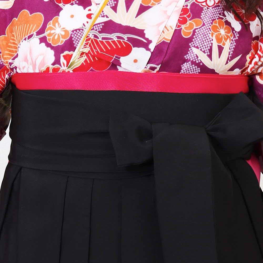 【h】|送料無料|卒業式レンタル袴フルセット-1382