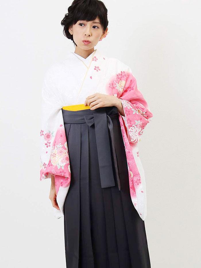 【h】 送料無料 卒業式レンタル袴フルセット-1005