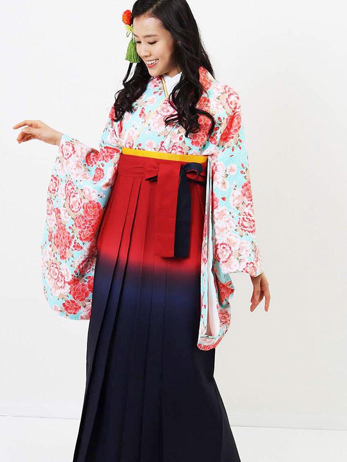 |送料無料|卒業式レンタル袴フルセット-716