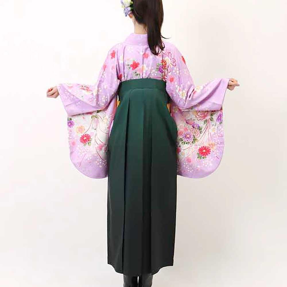【h】|送料無料|卒業式レンタル袴フルセット-938