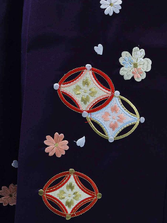 【h】|送料無料|卒業式レンタル袴フルセット-1356