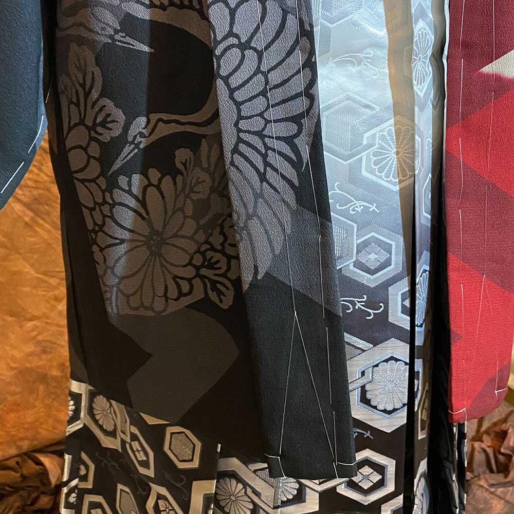 |送料無料|【レンタル】【成人式】安心の最大1ヶ月レンタル可能 男性用レンタル紋付き袴フルセット-7425