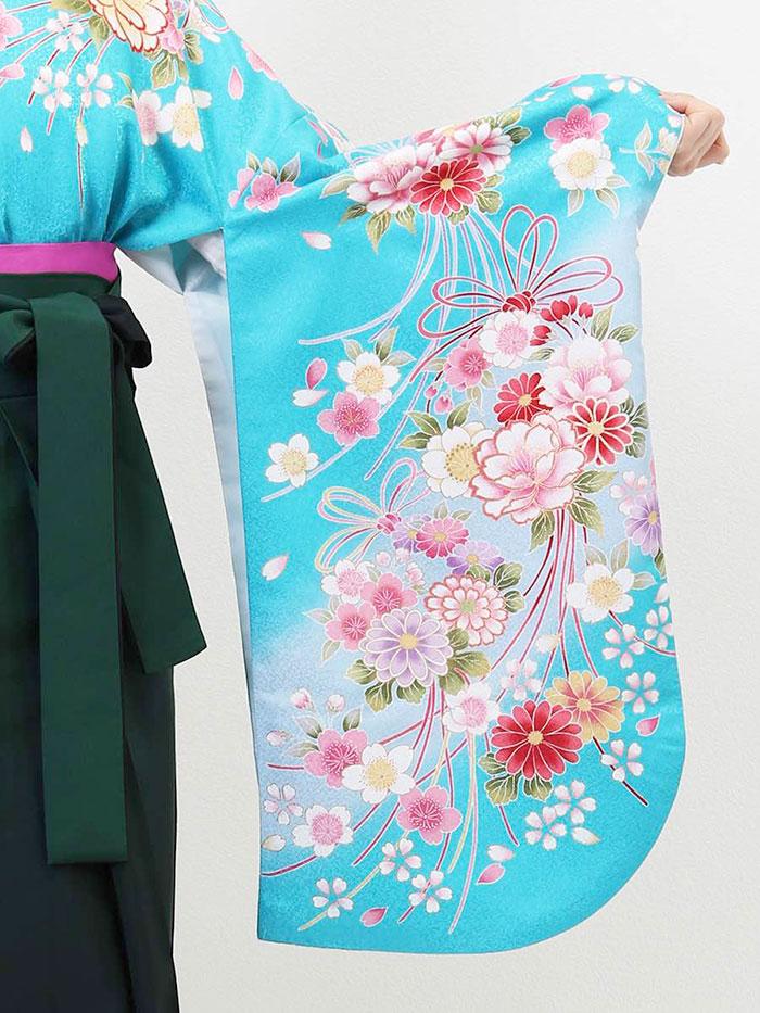 |送料無料|卒業式レンタル袴フルセット-941