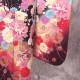 |送料無料|【レンタル】【成人式】 [安心の長期間レンタル]【対応身長155cm〜170cm】【正絹】レンタル振袖フルセット-400|花柄|クール