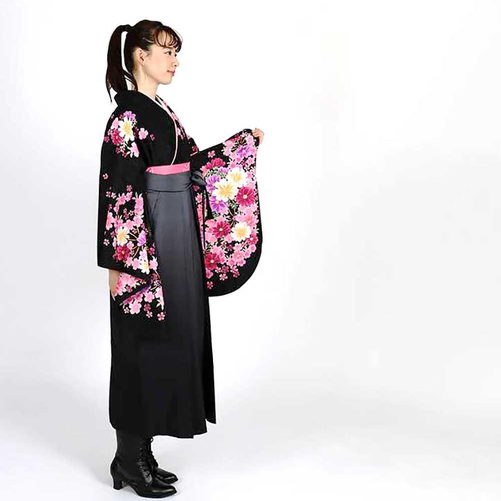 |送料無料|卒業式レンタル袴フルセット-943
