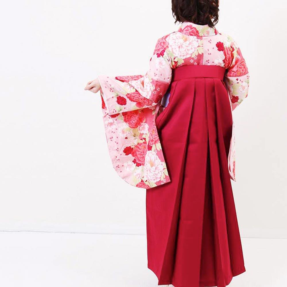 【h】|送料無料|卒業式レンタル袴フルセット-1390