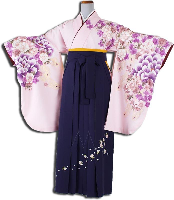 |送料無料|卒業式レンタル袴フルセット-838