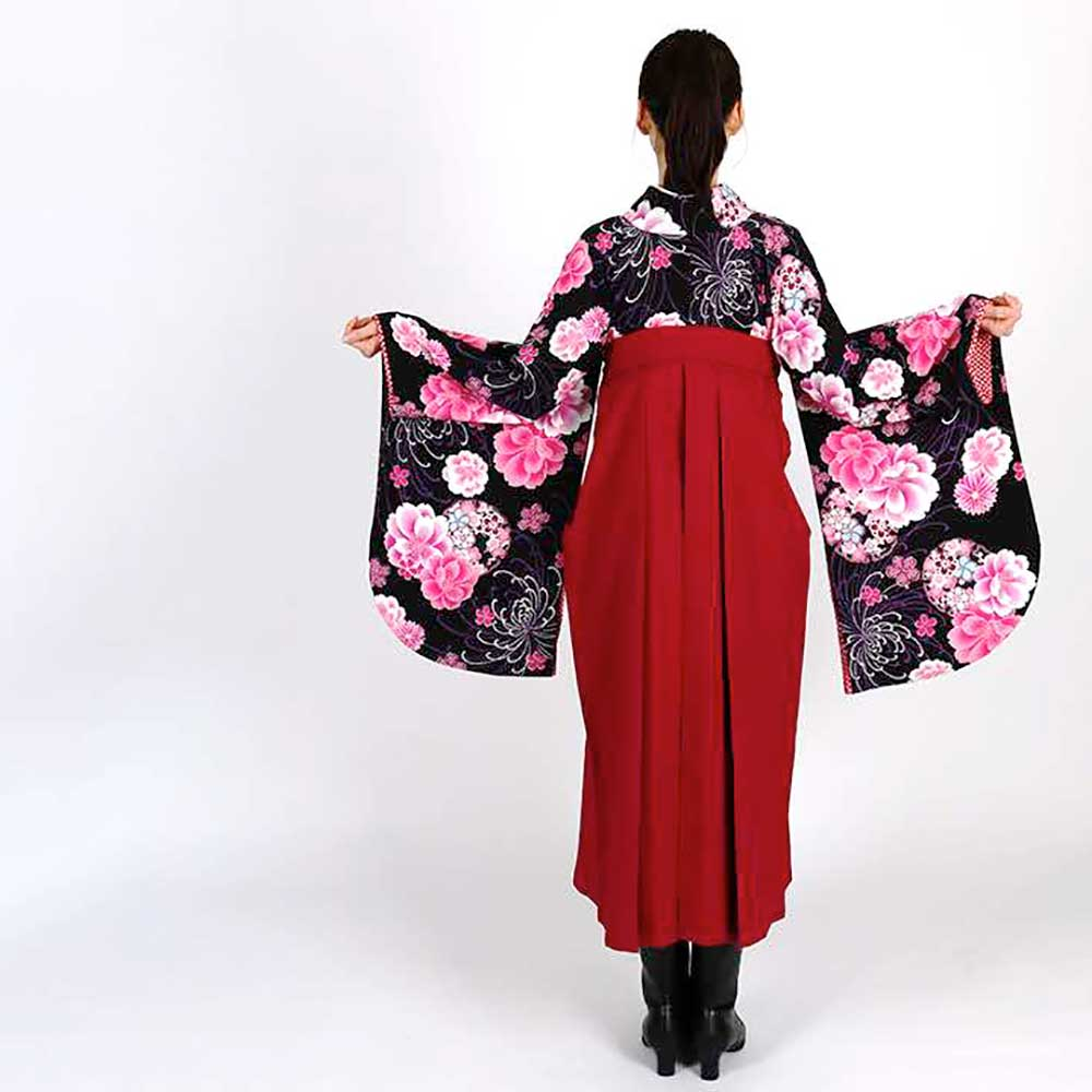 |送料無料|卒業式レンタル袴フルセット-1154