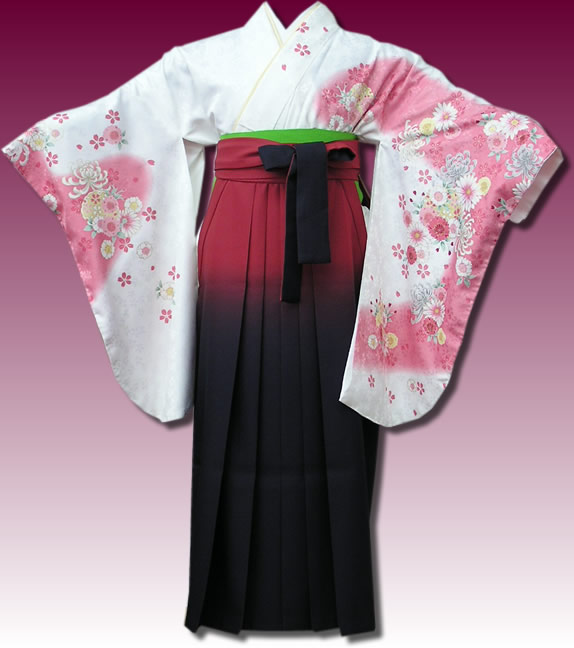 |送料無料|卒業式レンタル袴フルセット-582
