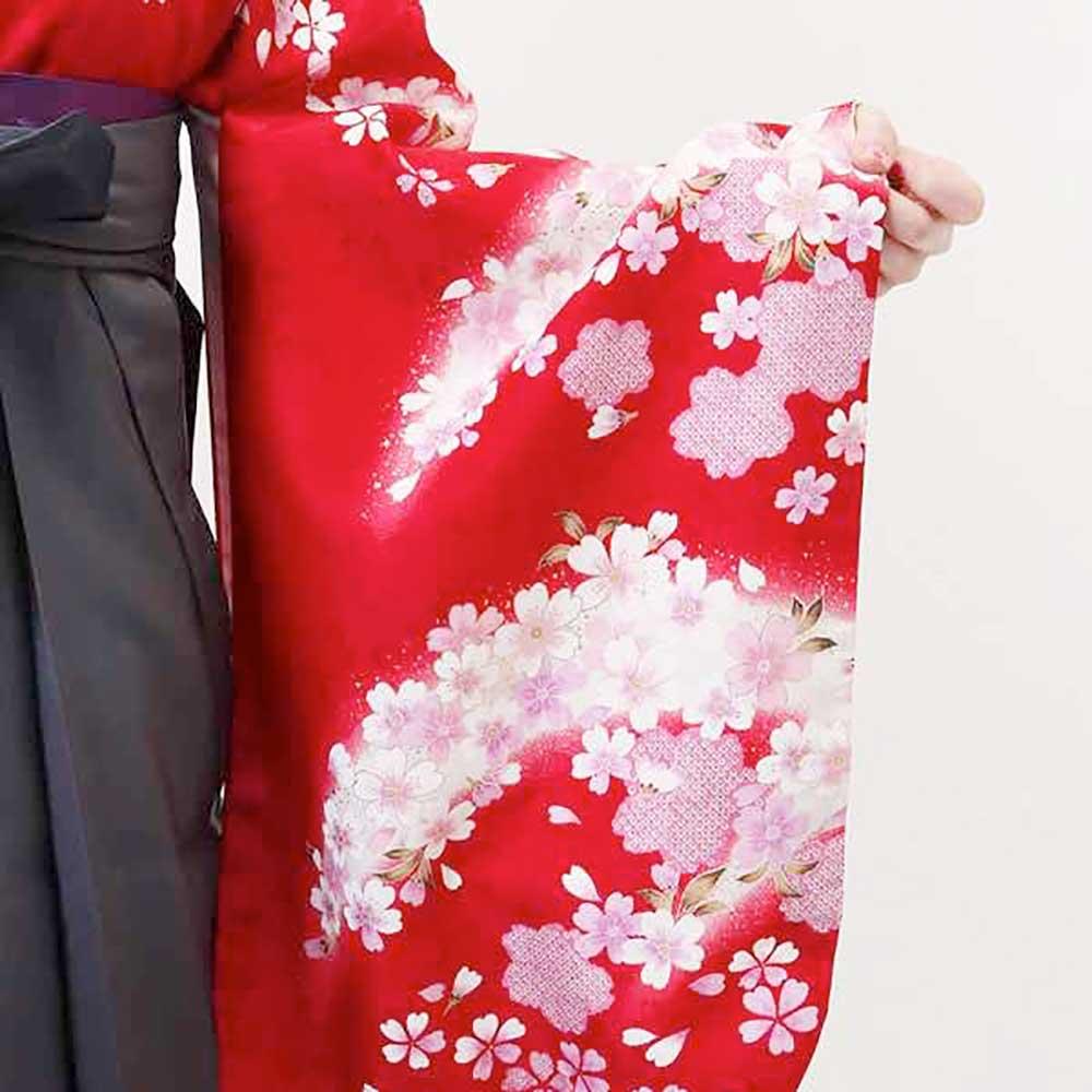 【h】|送料無料|卒業式レンタル袴フルセット-1360