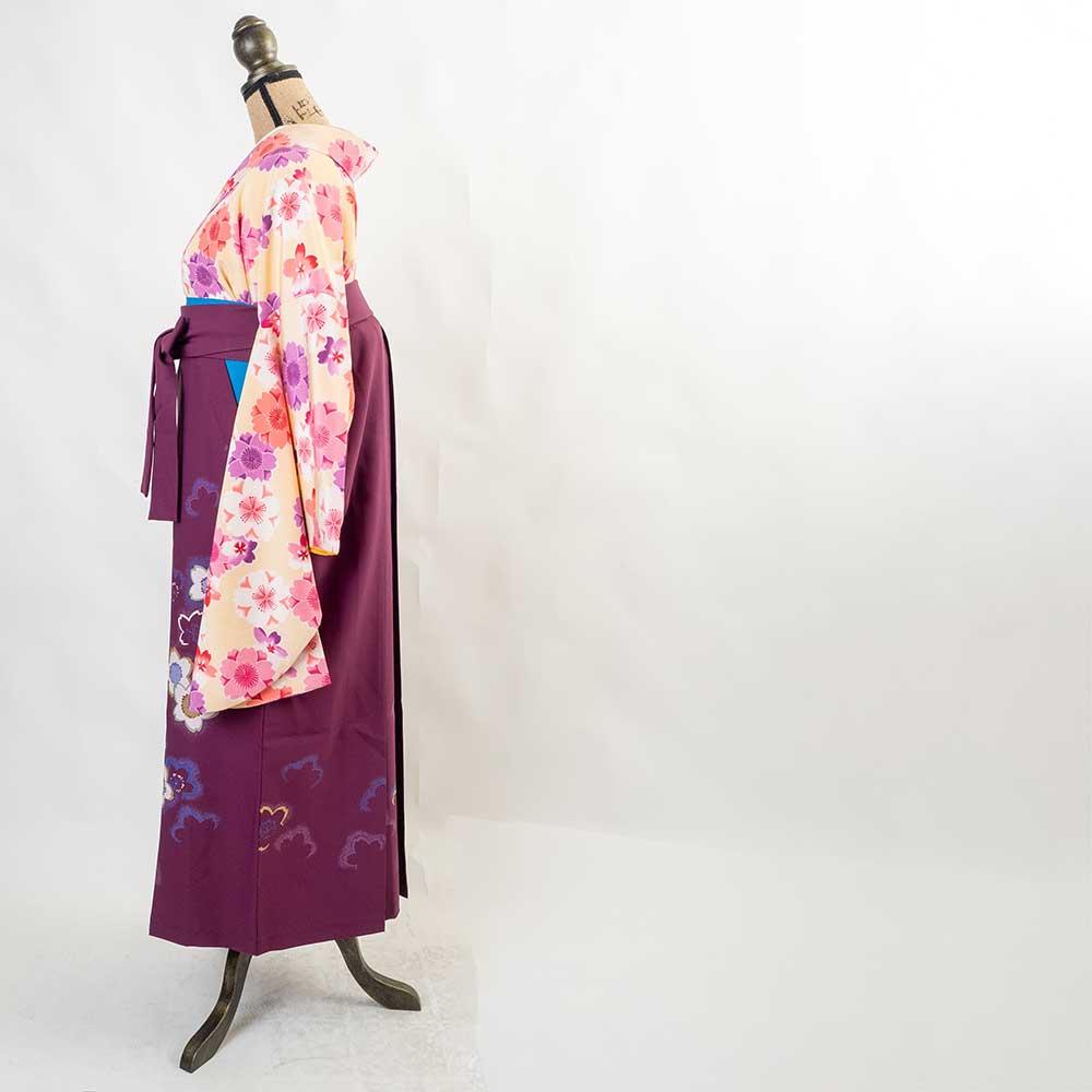 |送料無料|【uuu】卒業式レンタル袴フルセット-583