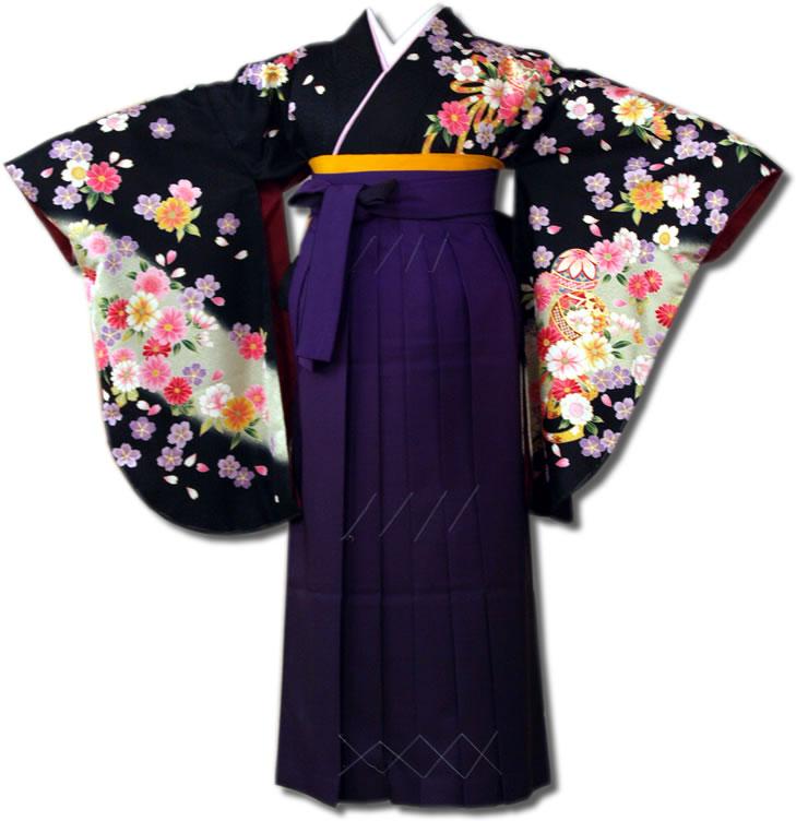 |送料無料|【uuu】卒業式レンタル袴フルセット-591