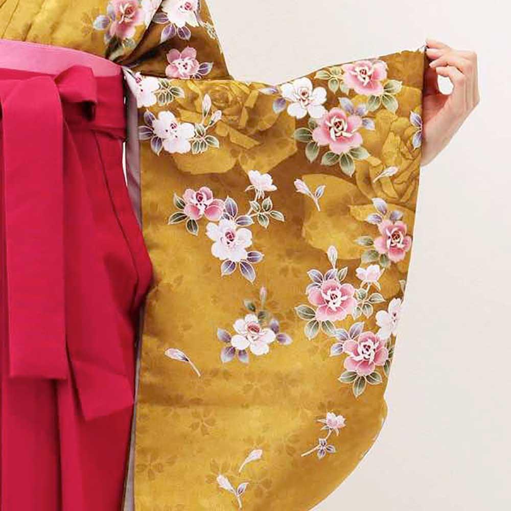 |送料無料|卒業式レンタル袴フルセット-1363