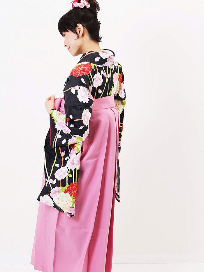 【h】|送料無料|卒業式レンタル袴フルセット-1266