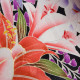 |送料無料|【レンタル】【成人式】 [安心の長期間レンタル]【対応身長155cm〜170cm】【正絹】レンタル振袖フルセット-412|花柄|モダン|