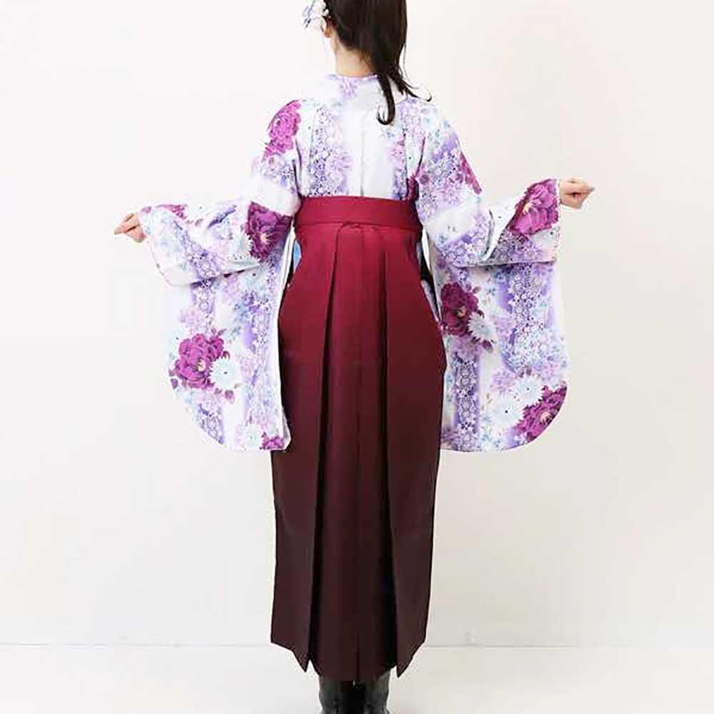 |送料無料|卒業式レンタル袴フルセット-1162