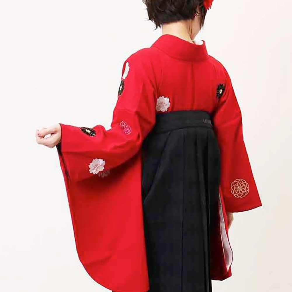 |送料無料|卒業式レンタル袴フルセット-849