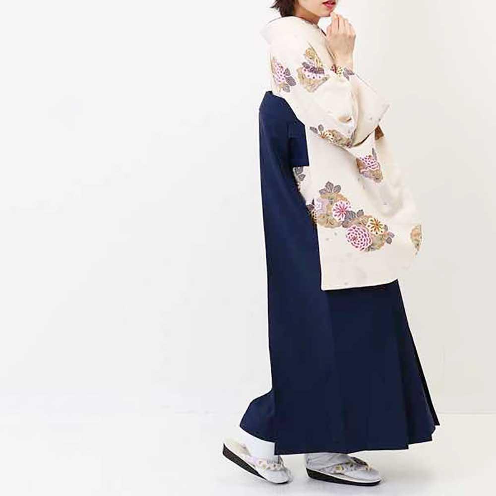 【h】|送料無料|卒業式レンタル袴フルセット-1368