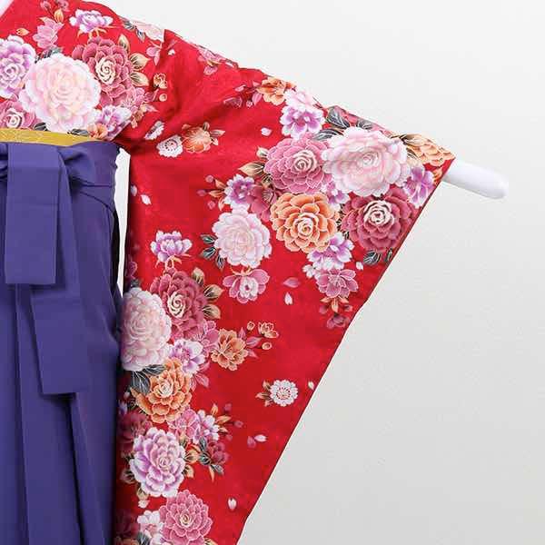 |送料無料|【レンタル】 小学生用卒業式レンタル袴フルセット-13005